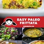 This easy paleo frittata is the perfect way to use up leftovers! If you're looking for a simple Whole30-friendly weeknight dinner, cook up a frittata!
