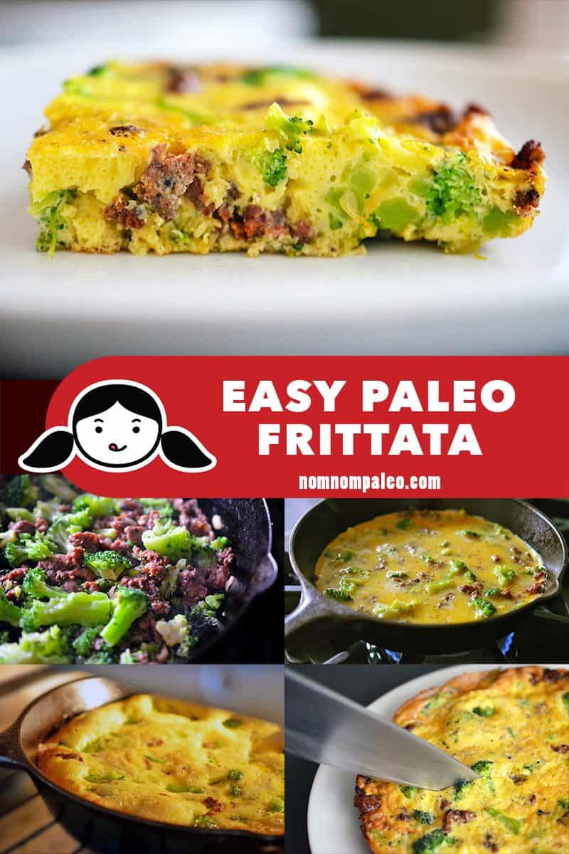 This easy paleo frittata is the perfect way to use up leftovers! If you're looking for a simple Whole30-friendly weeknight breakfast, lunch, or dinner, cook up a frittata!