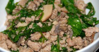 Quick Ground Pork Stir-Fry