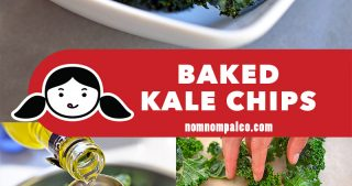 Baked kale chips are a simple, tasty, and healthy snack that you can easily make at home! Once you start munching on them, you won't want to stop!