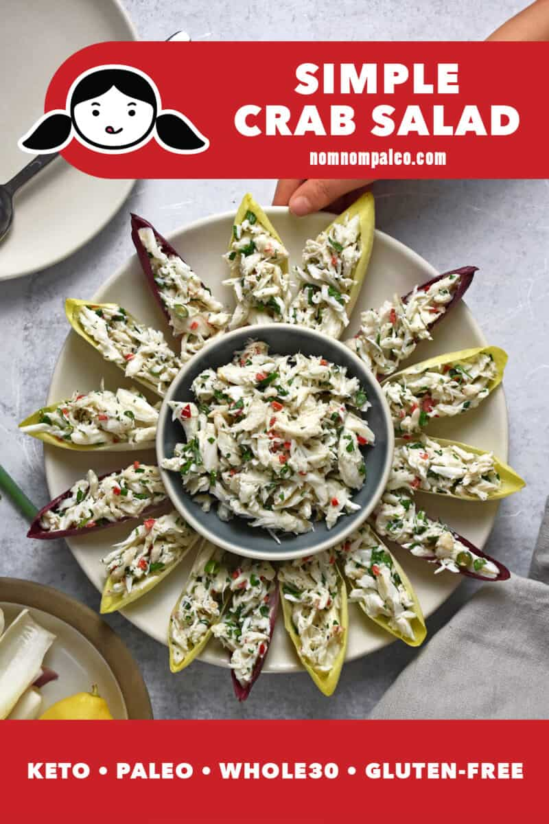 Simple Crab Salad