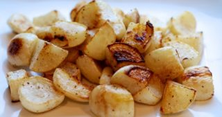 Roasted Turnips by Michelle Tam / Nom Nom Paleo