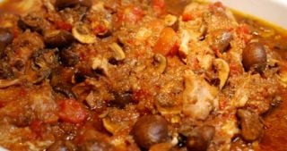Slow Cooker Chicken Cacciatore by Michelle Tam / Nom Nom Paleo