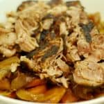 Slow Cooker Pork Shoulder Roast by Michelle Tam / Nom Nom Paleo