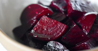 Marinated Roasted Beets