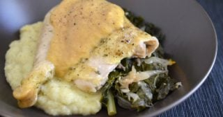 Slow Cooker Roast Chicken And Gravy by Michelle Tam / Nom Nom Paleo