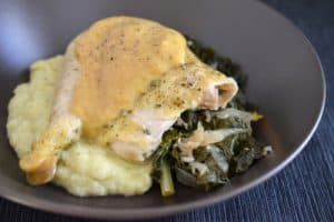 Slow Cooker Roast Chicken and Gravy by Michelle Tam http://nomnompaleo.com