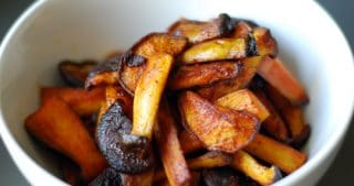 Hawaiian Fire-Spiced Mushrooms