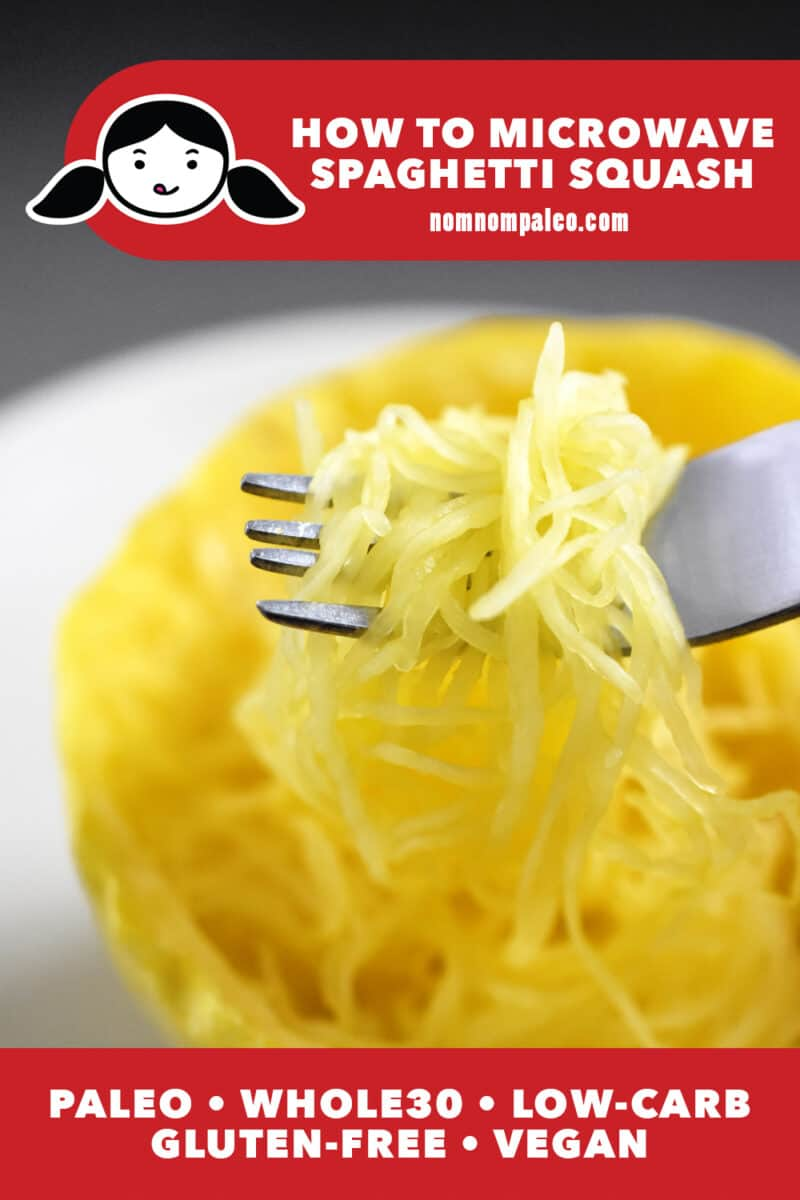 Microwave Spaghetti Squash
