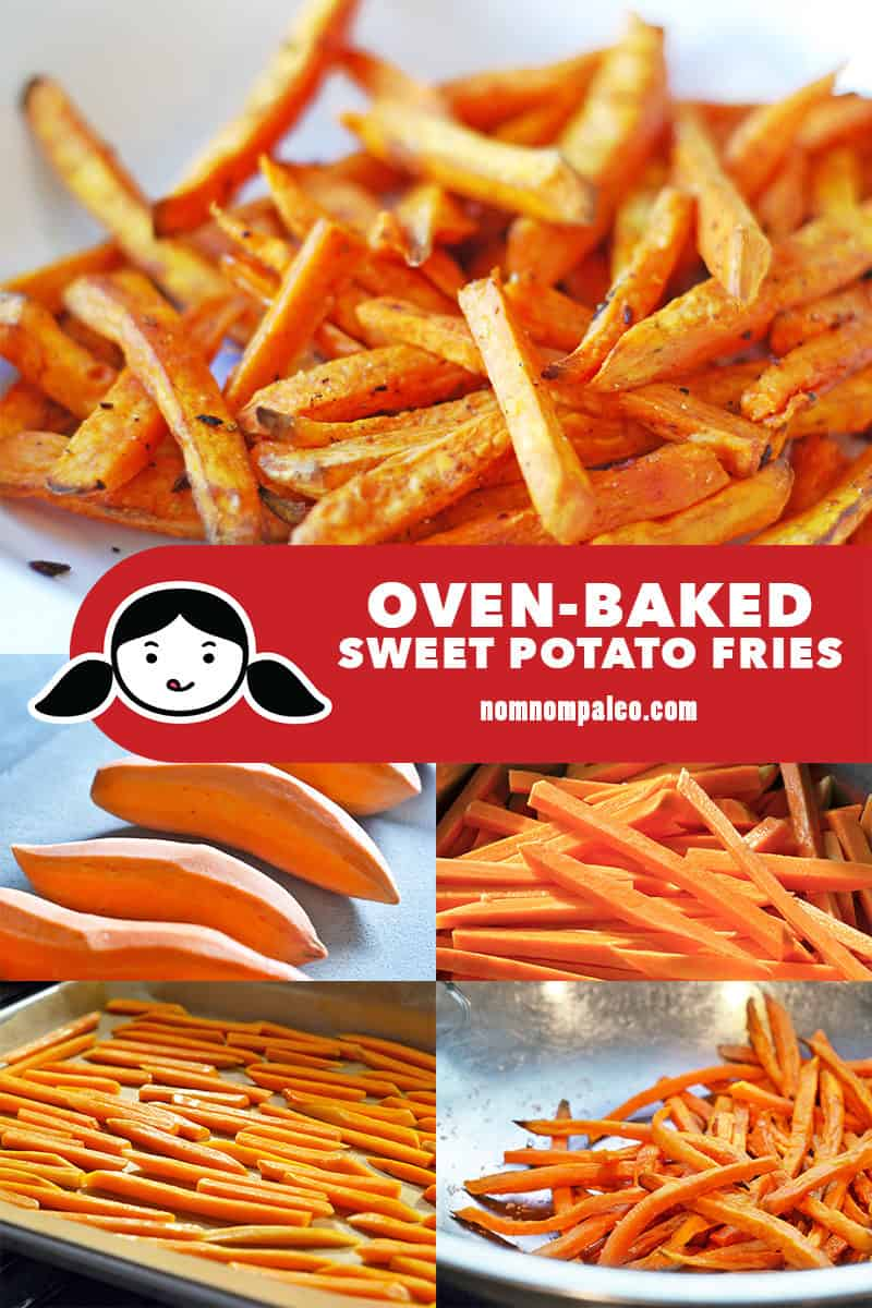 Baked sweet potato fries are so easy to make at home! This healthy and delicious vegetable side dish will satisfy your cravings for french fries!