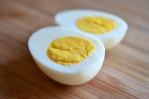 Here's how to make perfect hard-boiled eggs that are never overcooked (I hate the gray-green sulfur ring around overdone yolks) and are easily peeled!