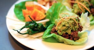 Surf and Turf Lettuce Tacos by Michelle Tam / Nom Nom Paleo