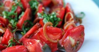 Tomato and Basil Salad by Michelle Tam / Nom Nom Paleo