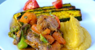 Slow Cooker Curried Goat Shanks by Michelle Tam / Nom Nom Paleo