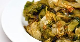 Oven-Roasted Escarole