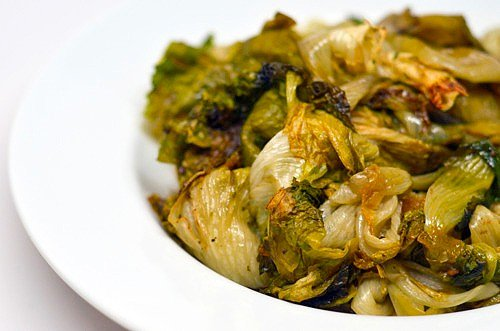Oven-Roasted Escarole by Michelle Tam / Nom Nom Paleo
