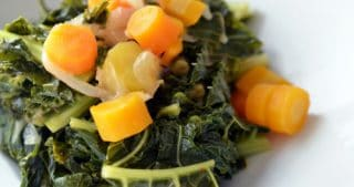 Pressure Cooker Braised Kale and Carrots by Michelle Tam / Nom Nom Paleo