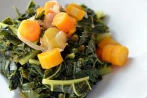Pressure Cooker Braised Kale and Carrots by Michelle Tam / Nom Nom Paleo http://nomnompaleo.com