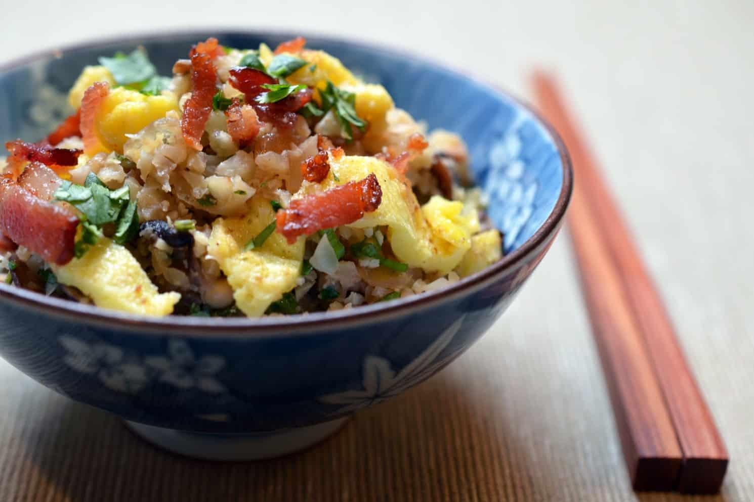 "Asian Cauliflower Fried ""Rice"" - Nom Nom Paleo®"