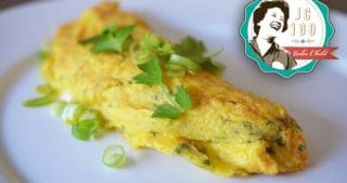 Julia Child's Rolled Omelet – Thai Style