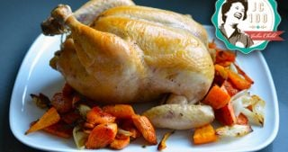 Julia Child's Classic Roast Chicken