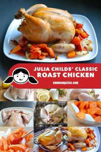 Julia Child's classic roast chicken recipe is something you should have in your kitchen arsenal. This simple Whole30-friendly recipe is great for leftovers!