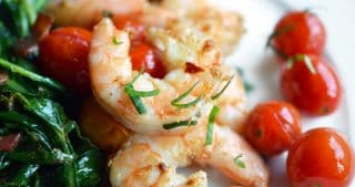 Tabil Seasoned Sautéed Shrimp by Michelle Tam / Nom Nom Paleo