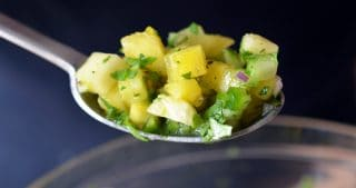 Spicy Pineapple Salsa by Michelle Tam / Nom Nom Paleo