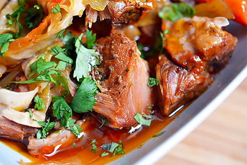 Slow Cooker Cheater Pork Stew by Michelle Tam / Nom Nom Paleo https://nomnompaleo.com