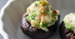 Shrimp-Stuffed Mushrooms by Michelle Tam / Nom Nom Paleo