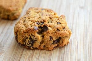 Grain-Free Dark Chocolate Cherry Scones - Nom Nom Paleo®