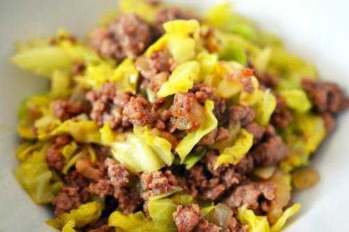 Garbage Stir-Fry with Curried Cabbage - Nom Nom Paleo®
