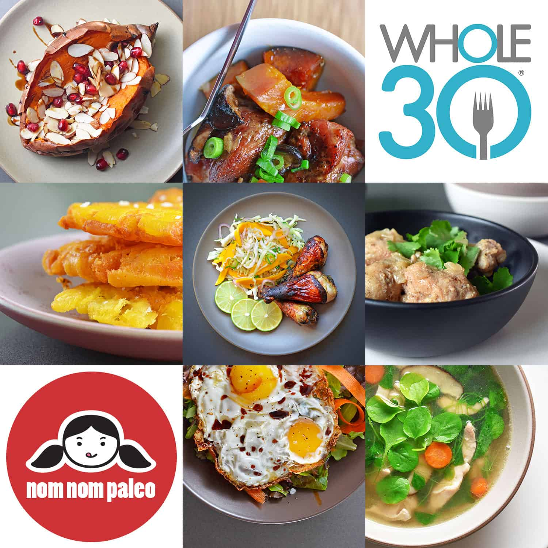 90 Days of Whole30 Recipes by Nom Nom Paleo®