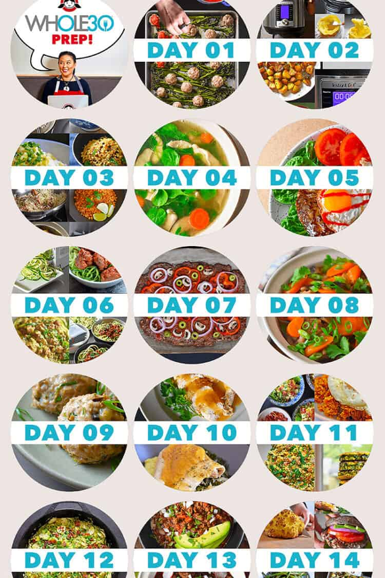 A roundup of 90+ days of Whole30 recipes by Nom Nom Paleo