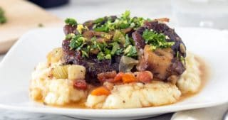 Slim Palate's Lamb Osso Bucco With Gremolata