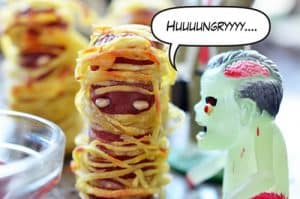 Yummy Mummies (a.k.a. Halloweenies) by Michelle Tam http://nomnompaleo.com
