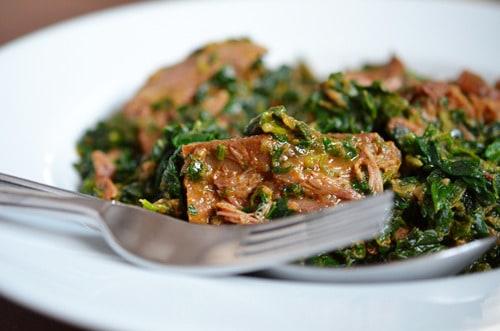 Saag Gosht (Lamb with Spinach Sauce) - Nom Nom Paleo®