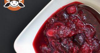 Paleo Cran-Cherry Sauce