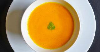 Carrot + Cardamom Soup