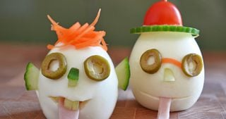 Crazy Clown Eggs by Michelle Tam / Nom Nom Paleo