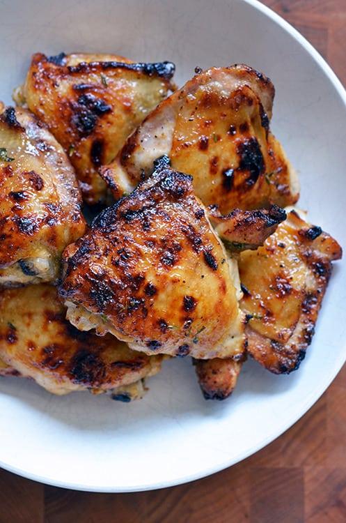 The Paleo Kitchen S Honey Mustard Chicken Thighs Nom Nom Paleo 174