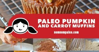 These paleo pumpkin and carrot cakes are dangerously addictive. With a tender crumb, just the right amount of sweetness, and a pleasantly unexpected hit of exotic spice, it's no wonder that everyone loves these muffins.