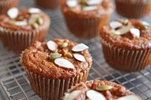 Paleo Pumpkin and Carrot Muffins by Michelle Tam https://nomnompaleo.com