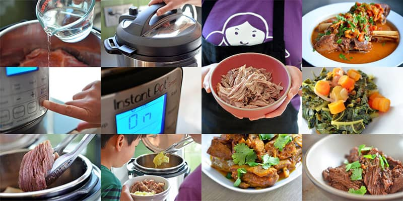 Images of popular Nom Nom Paleo Instant Pot recipes