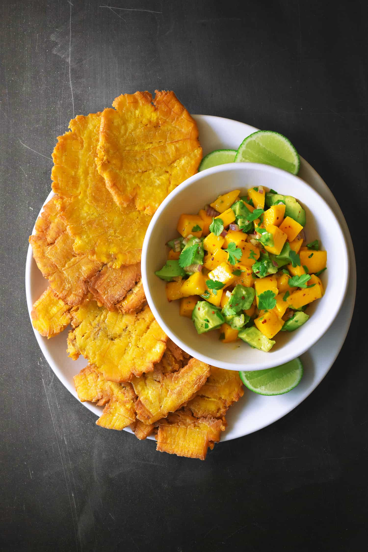 Fried plantains green or yellow dresses