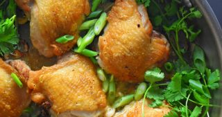 Cantonese Crispy Chicken Thighs