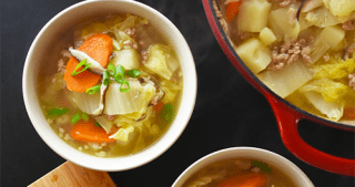 Pork and Napa Cabbage Soup