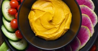 Sweet Potato and Cashew Dip from Tess Masters' The Perfect Blend by Michelle Tam https://nomnompaleo.com