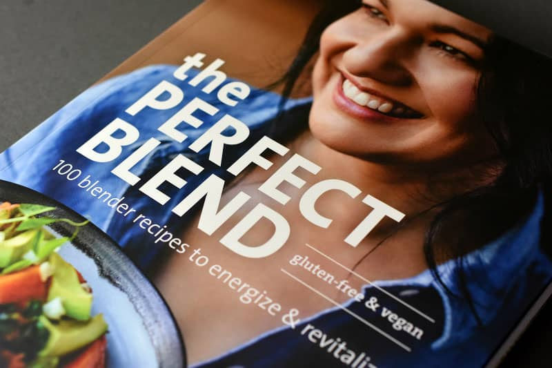 The front cover of the perfect blend by tess masters.