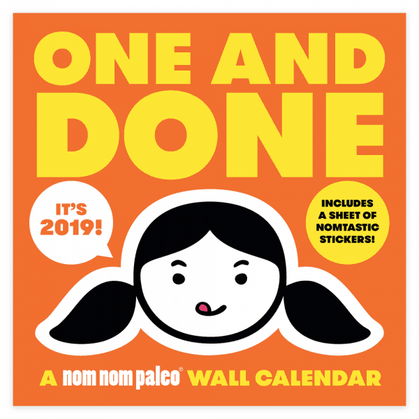 One and Done 2019 Wall Calendar